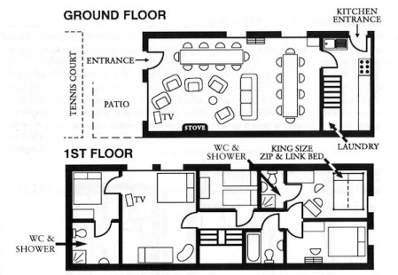 Coach House Floor Plan