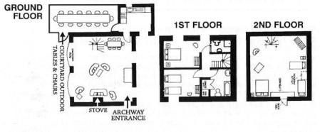 Courtyard Floor Plan