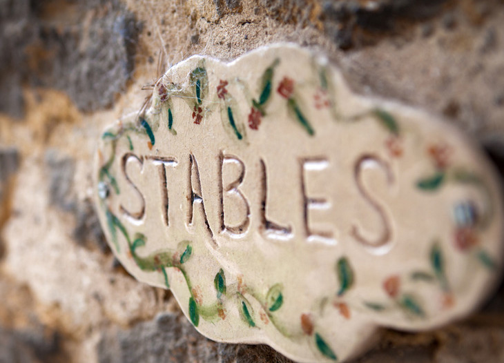 Stables Sign